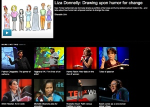 TED talks similarity example