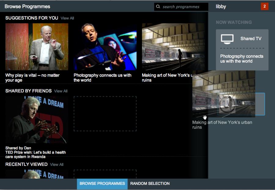 TED N-Screen screenshot